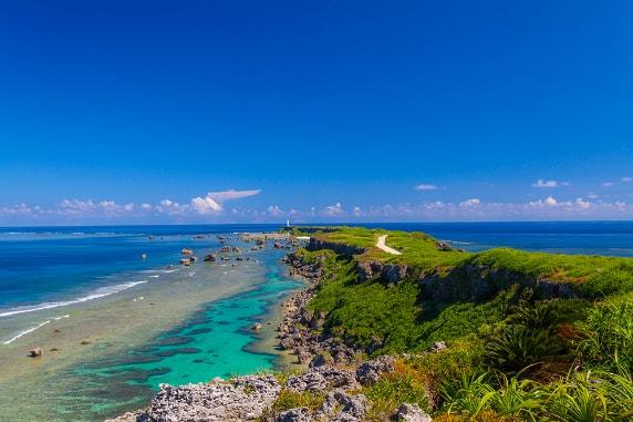 「海だけでなく陸も珊瑚礁「サンゴの上に人が住む島」